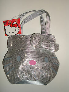 35753b5842 Image is loading Loungefly-Hello-Kitty-Quilted-Face-Tote-Handbag