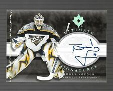 2006-07 Ultimate Signatures Tomas Vokoun Auto