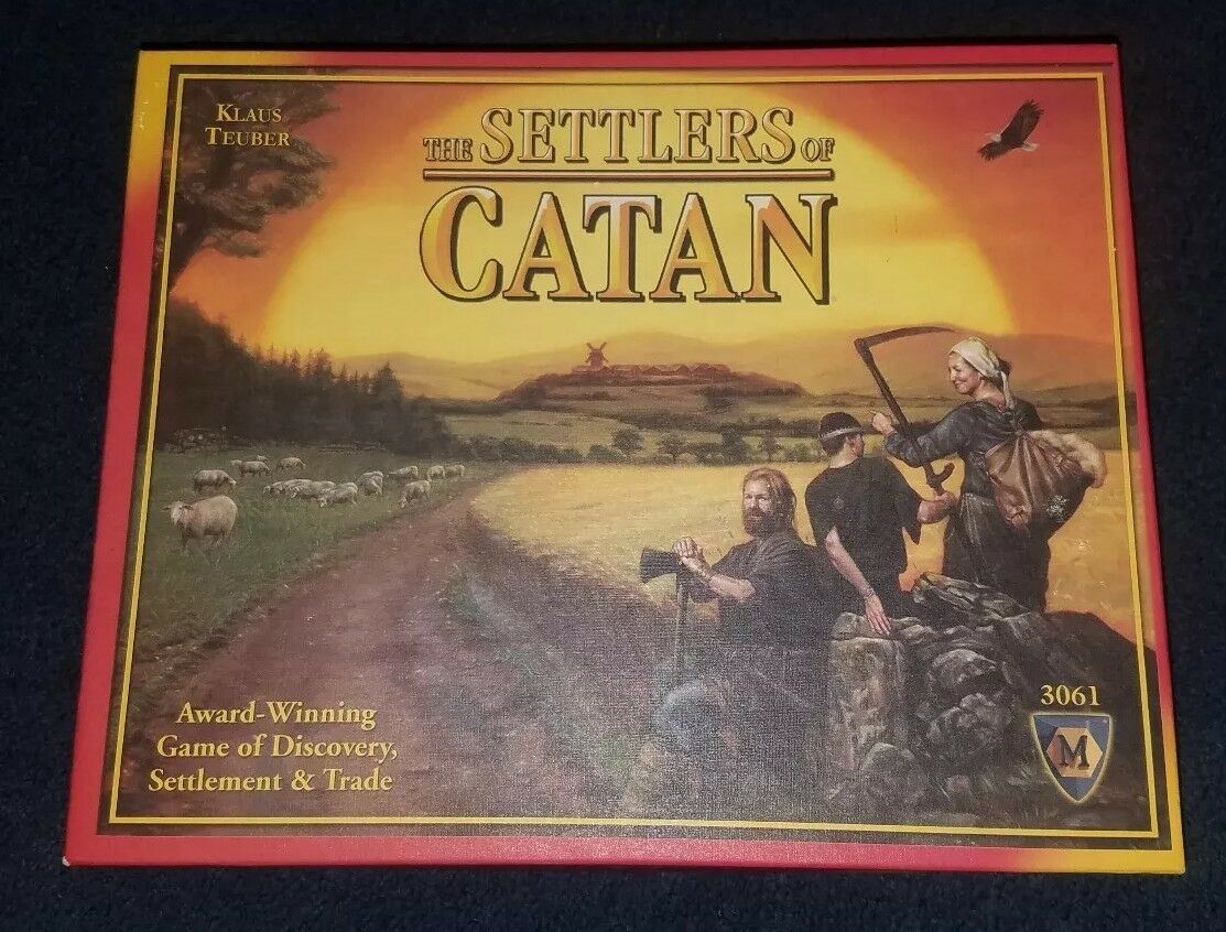 NEW The Settlers of Catan 4th Edition Board Game  3061 2012 FREE SHIPPING MINT
