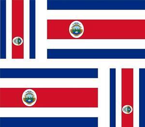 4-x-Autocollant-sticker-voiture-moto-drapeau-costa-rica-costa
