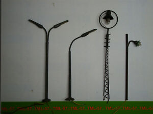 Decor-DIVERS-Lampadaire-Echelle-HO-A-reparer-ou-pour-Pieces-Lot-de-4