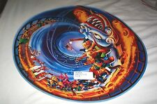 New Hurricane Pinball Machine NOS Backbox Spinning Disc Roller Coaster Translite