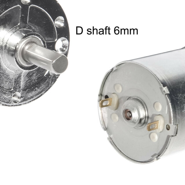 XC25GA370 DC 24V 200 RPM Geared Motor Adjustable Speed 4mm Shaft Dia for Oven