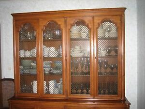 Image Is Loading AMERICAN MID CENTURY MODERN TOMLINSON BREAKFRONT CHINA  CABINET