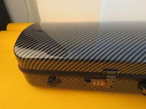 4/4 violin Case Carbon fiber Hard case Light Durable Password lock,free postage