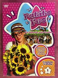 PATITO FEO PRIMERA 1ª TEMPORADA EP. 1 - 20 SERIE 5 x DVD ESPAÑOL PORTUGUES AM