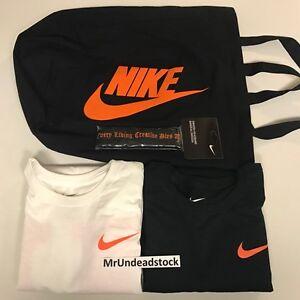 T Tote Nike Vlone Bag Headband Black Long White Shirts X Sleeve WSOgY4AO