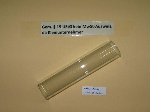 4 cm Rohr Aussen Ø ca Zylinder 17 cm für Petroliumlampe