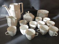 Ancien service à thé ou café en porcelaine Czechoslovakia UNION tea coffee