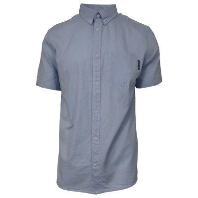 DC Shoes Men's Classic Oxford Light S/S Woven Shirt (Retail $55)