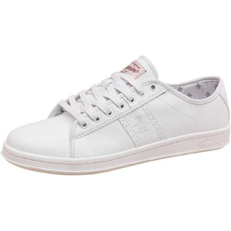 ORIGINAL PENGUIN MENS MAC TRAINERS WHITE – SIZE 6 - BNIB