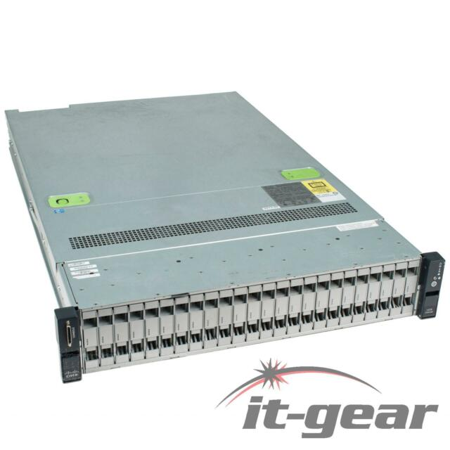 UCSC-C240-M3S C240 Server, 2x E5-2609 2 4GHz 4-core, 32GB, 16G SD, Dual  Power