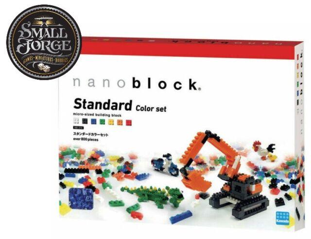 Nanoblock STANDARD COLOUR SET, NB-014, 800 Pieces, Last Boxes - NEW