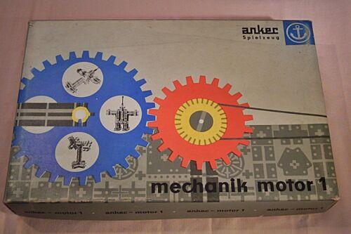 """DDR & Ostalgie 11 313 DDR Baukasten """"Ankermechanik Motor 1"""",vollständig,Motor funktionstüchtig"""