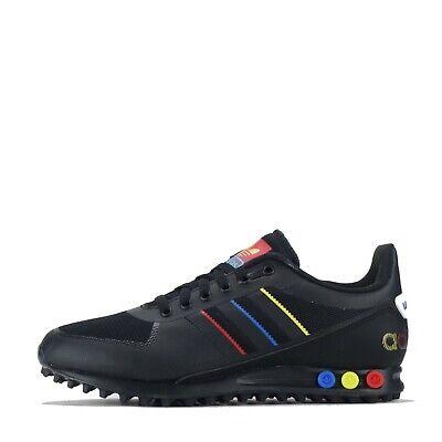 adidas Originals Men's LA Trainer II 2 Trainers Shoes Black Blue | eBay