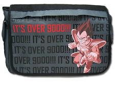 **License Bag** Dragon Ball Z Vegeta It's Over 9000 Messenger Back Pack #11055