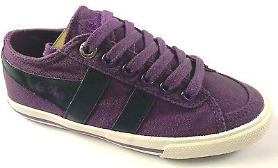 Canvas ***NEW*** Gola Quota Kids Purple//Navy Great Look!