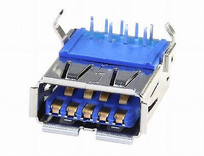 Usb 3.0 Jack Installazione Typa 90 Gradi Printm. Connettori Montaggio Frizione Lötbuchse-