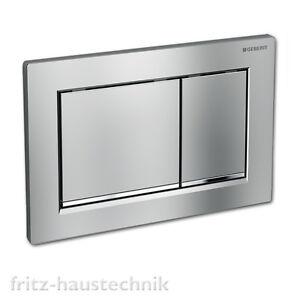 Häufig Geberit Sigma 30 Drückerplatte WC Betätigungsplatte chrom WS12
