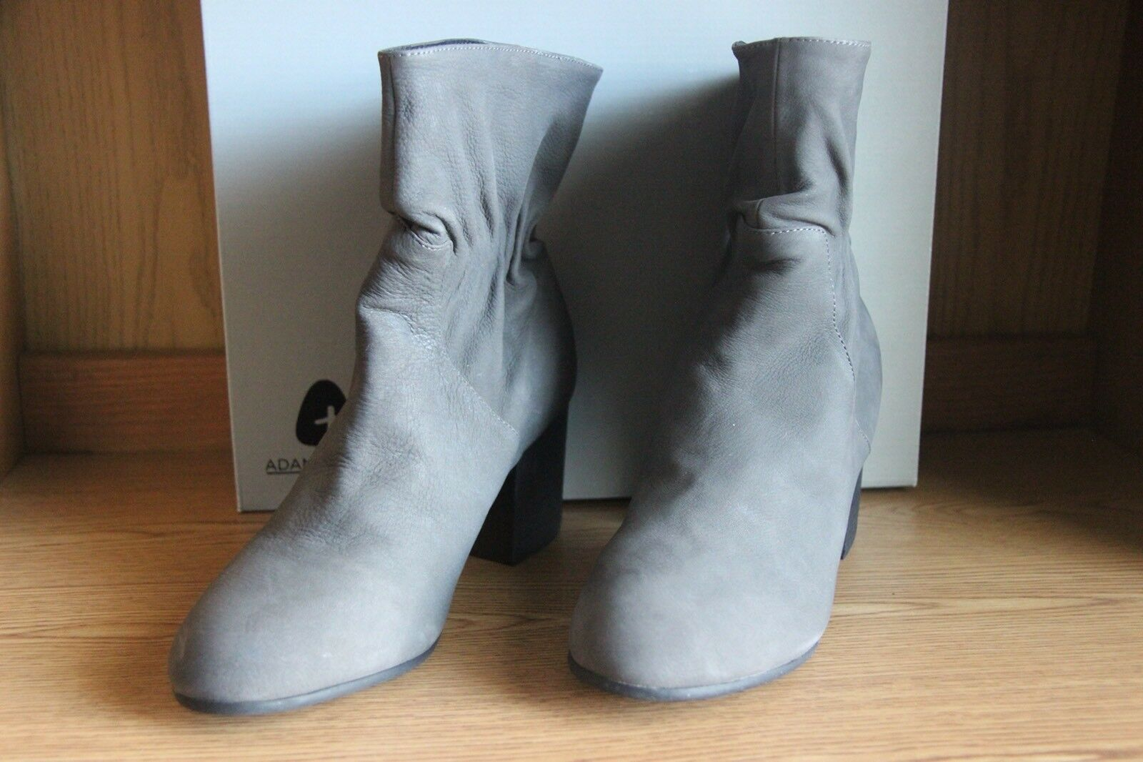 Adam Tucker Ankle Boot Charcoal Grey Women Size 10  SA1GE8