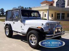 88 95 Jeep Wrangler Black Soft Top Upper Skins Fits 1994 Jeep Wrangler