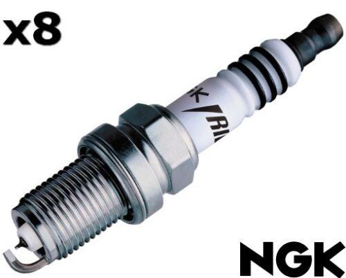 NGK Spark Plug Iridium FOR Mitsubishi Lancer 2005-2007 EVO IX  ILFR7H x8