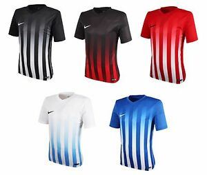 NIKE Stripe Division 2 S S Jersey Training Top T-Shirts Soccer ... a9b54132d7841