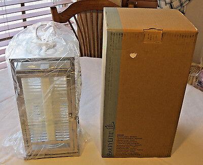 Party Lite P91525 Resort Lantern Medium hanging door candle holder with box NEW