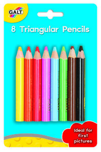 Galt-Toys-8-Triangular-Pencils-For-Kids-FREE-amp-FAST-DELIVERY