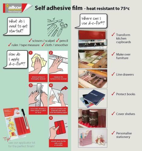 ALKOR  BASKET WEAVED DECROTIVE STICKY BACK PLASTIC SELF ADHESIVE VINYL FILM WRAP