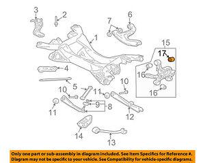 S L on 2001 Mitsubishi Galant Rear Suspension Parts Diagram