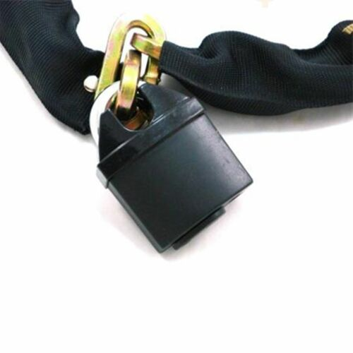 Heavy Duty Chain Lock Bike Motorcycle Motorbike High Security 1.1m /& 2 keys