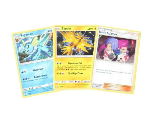 Pokemon Hidden Fates Holo Rare Individual Single Cards!