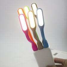 Schön Biegbar USB LED Lampe für Laptop Powerbank Notebook Licht Leuchte Weiß