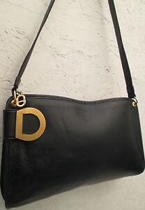 AUTHENTIQUE-et-beau-sac-a-main-CHRISTIAN-DIOR-vintage-bag-60-039-s