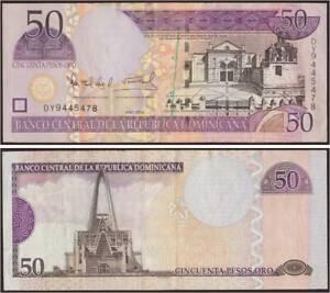 Repubblica Dominicana 50 Pesos Oro 2004 Fds/unc Fior Di Stampa
