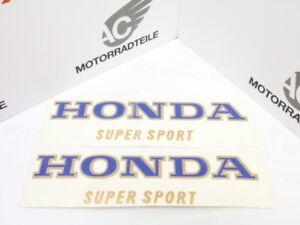 """Honda CB 400 Four F F1 Aufkleber Set Tank Zierstreifen für rot """"light ruby red"""""""