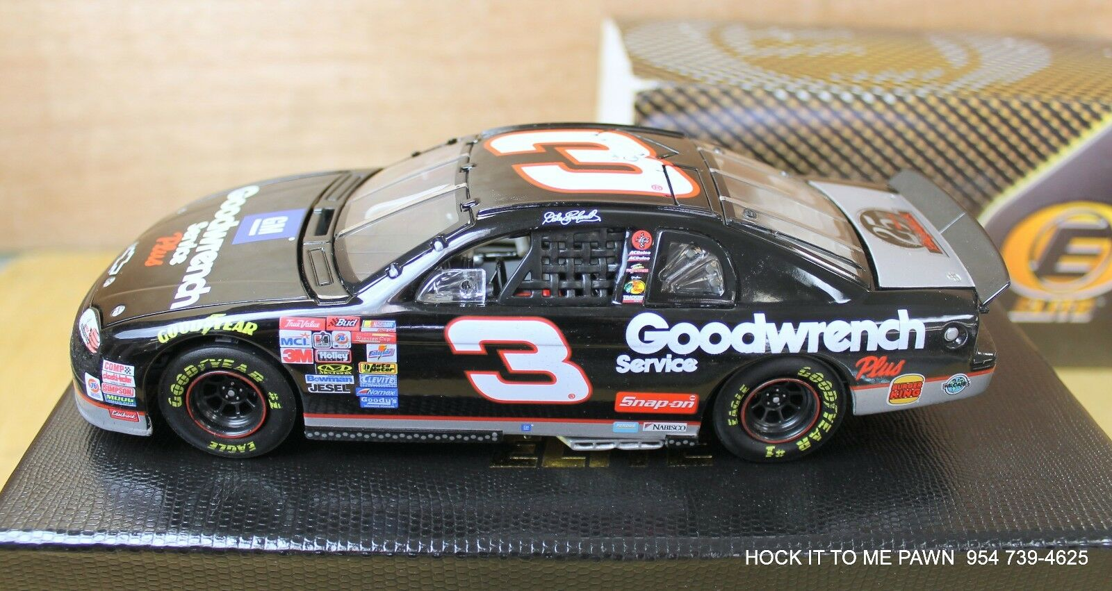 Action ELITE 1 24 1999 Dale Earnhardt GM Goodwrench Monte Carlo 25th  Annive