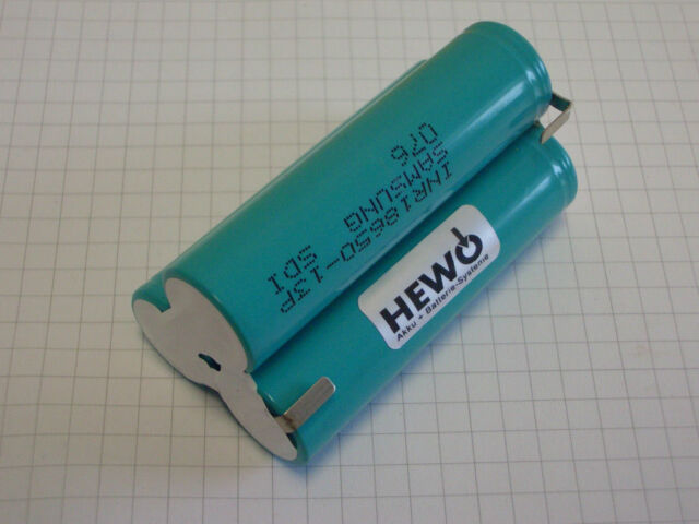 2000mAh für Kress 10.8V 18650 Li-Ion Werkzeug akku A108 Selbstmontage Batterie