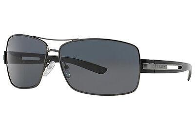 cc37861730f7 New Prada Sunglasses PR 54IS Col 5AV5Z1 Size 64 MM Polarized BO
