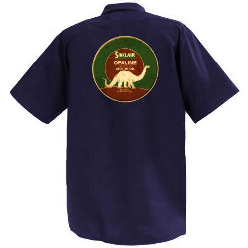 Mechanics Graphic Work Shirt  Short Sleeve Sinclair Opaline