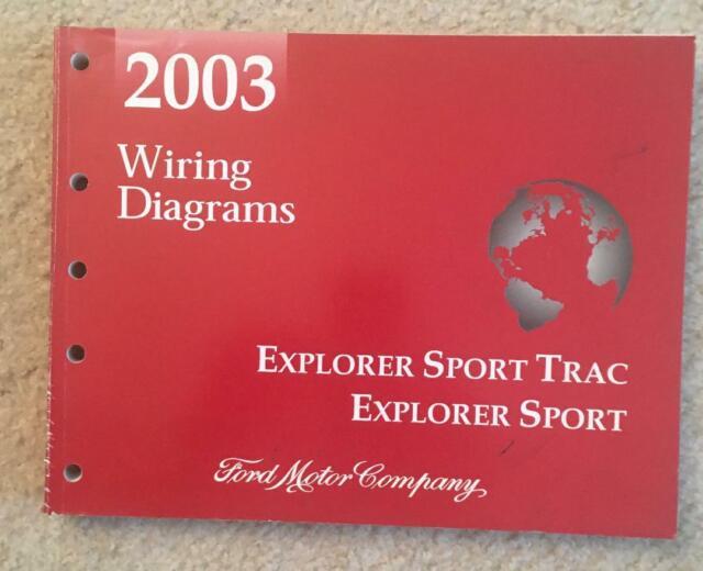 2003 Ford Explorer Sport Trac Wiring Diagrams Oem