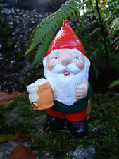 Garden Gnome ~ Scrumpy ~ Handmade by Pixieland (Concrete)
