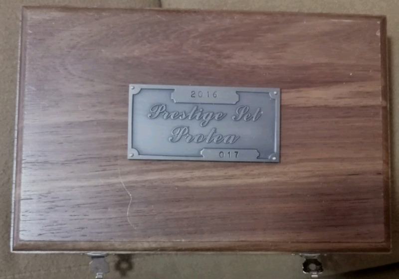 2016 Prestige Protea Mandela Set