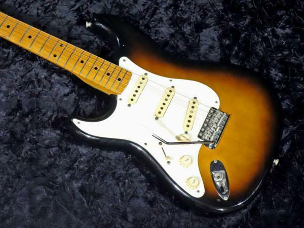 Fender Japan ST57 LH 2TS Lefty Model beutiful JAPAN rare useful EMS F S