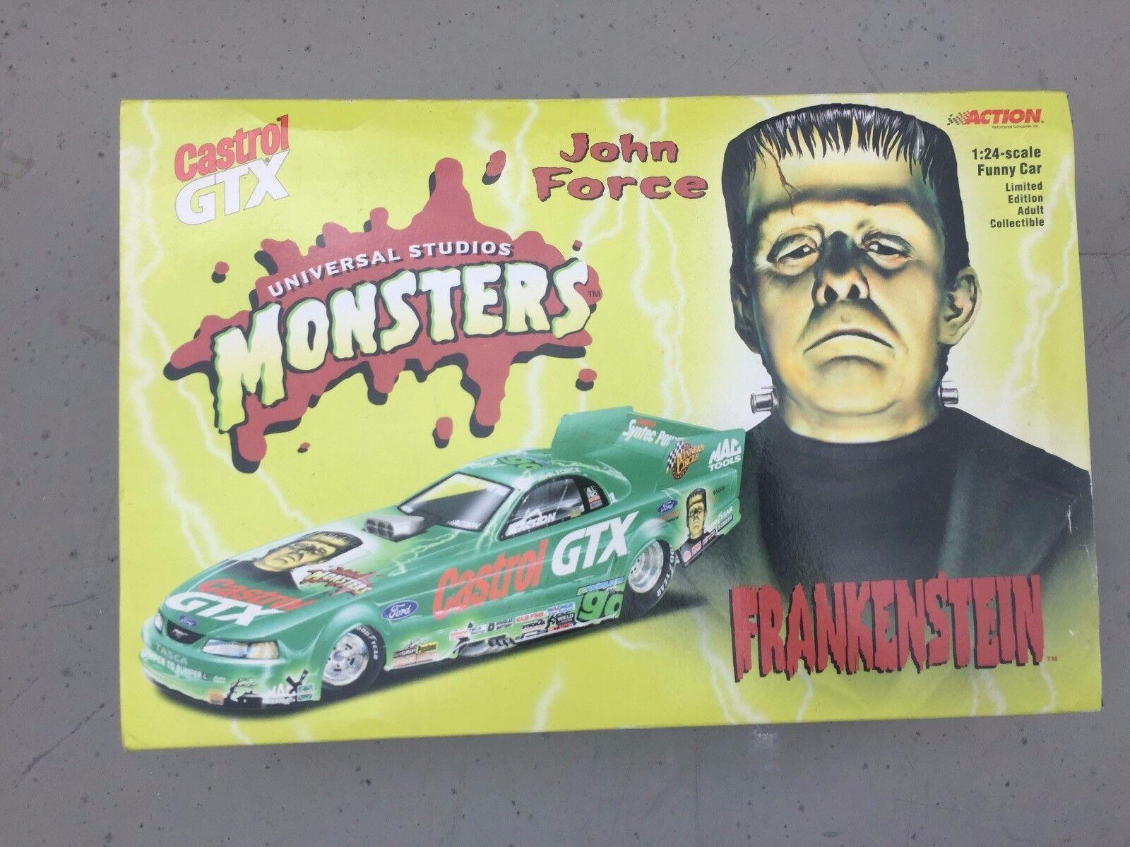 envío gratuito a nivel mundial John Force 2000 Frankenstein Ford Ford Ford Mustang Castrol GTX 1 24th scale  las mejores marcas venden barato