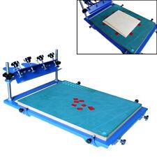 1 Color Desktop 3 Way Micro Registration Screen Printing Machine Press Printer