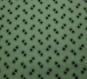 Scrappier Dots BTY Judie Rothermel Marcus Civil War Black Dusty Green Sage