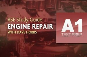 Complete Ase A1 Engine Repair Test Prep Program Dvd