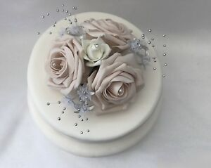 image is loading rose flowers cake topper wedding hearts red royal